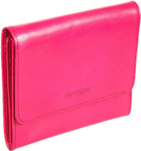 Кошельки бумажники и портмоне Sergio Belotti 3510-IRIDO-fuxia кошельки бумажники и портмоне sergio belotti 3541 irido brown