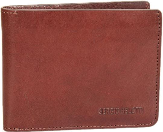 Кошельки бумажники и портмоне Sergio Belotti 3541-IRIDO-brown кошельки бумажники и портмоне mano 19900 brown