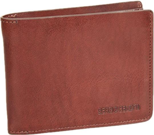 Кошельки бумажники и портмоне Sergio Belotti 3542-IRIDO-brown визитница sergio belotti 3551 irido fuxia
