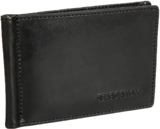 Кошельки бумажники и портмоне Sergio Belotti 3589-IRIDO-black кошельки бумажники и портмоне malgrado 36002 64d black