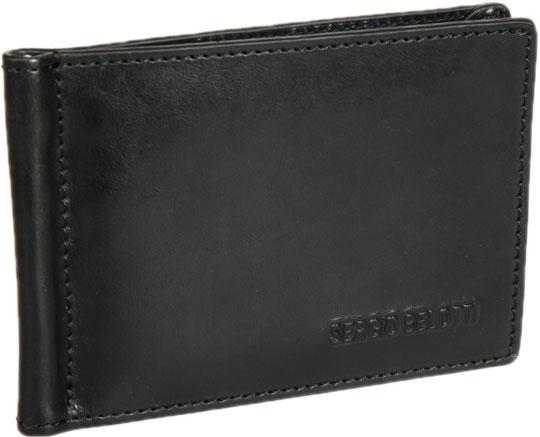 Кошельки бумажники и портмоне Sergio Belotti 3589-IRIDO-black цена и фото
