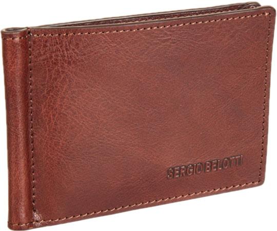 Кошельки бумажники и портмоне Sergio Belotti 3589-IRIDO-brown кошельки бумажники и портмоне mano 19900 brown