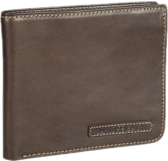 Кошельки бумажники и портмоне Sergio Belotti 3644-ancona-brown кошельки бумажники и портмоне petek s15012 46d 27