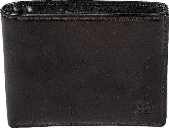 Кошельки бумажники и портмоне Sergio Belotti 396-milano-black