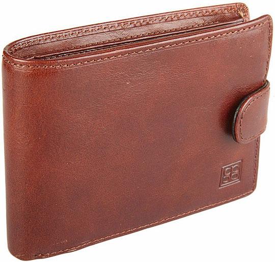 Кошельки бумажники и портмоне Sergio Belotti 533-milano-brown портфель мужской sergio belotti цвет коричневый 8740