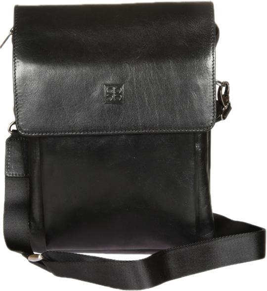 Кожаные сумки Sergio Belotti 6030L-milano-black цена и фото