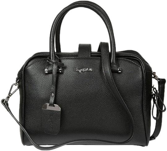 Кожаные сумки Sergio Belotti 80-black кожаные сумки sergio belotti 206 teal