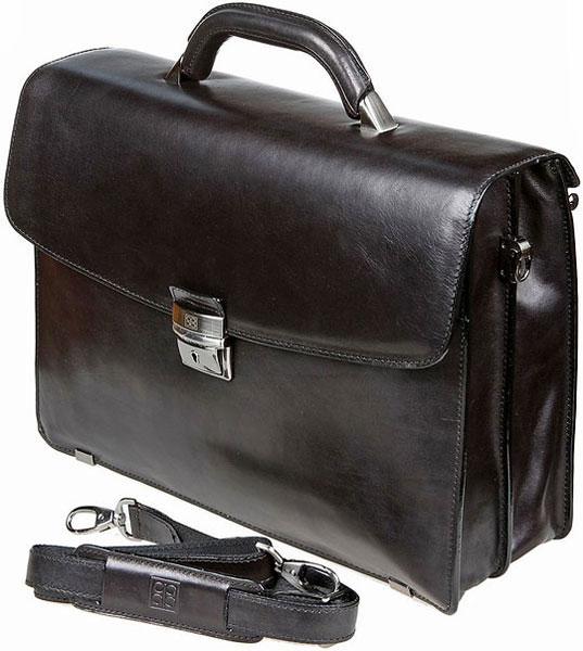Портфели Sergio Belotti 8008-milano-black цена