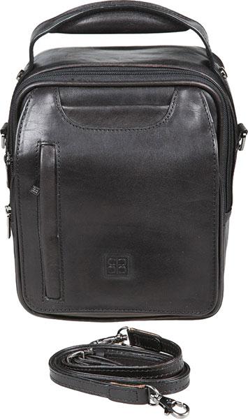 Кожаные сумки Sergio Belotti 8381-milano-black