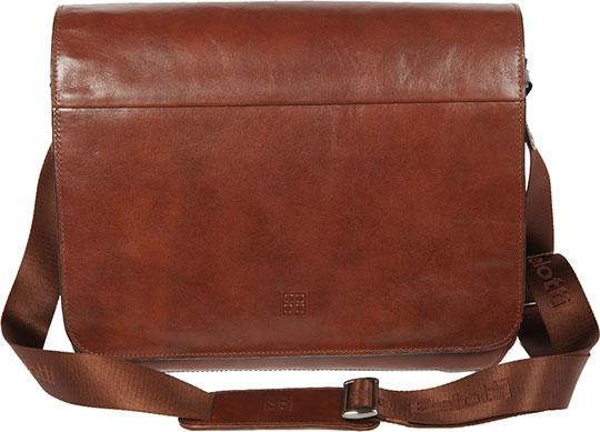 купить Кожаные сумки Sergio Belotti 8919-34-milano-brown недорого