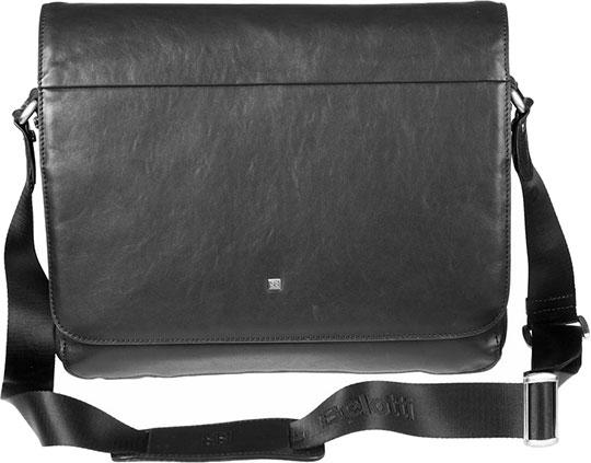 Кожаные сумки Sergio Belotti 8919-34-west-black сумка планшет мужская sergio belotti цвет черный 8919 34