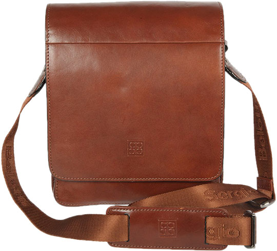 Кожаные сумки Sergio Belotti 8944-20-milano-brown