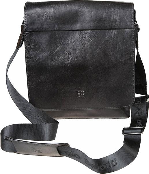Кожаные сумки Sergio Belotti 8944-milano-black