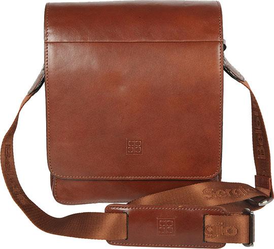купить Кожаные сумки Sergio Belotti 8944-milano-brown недорого