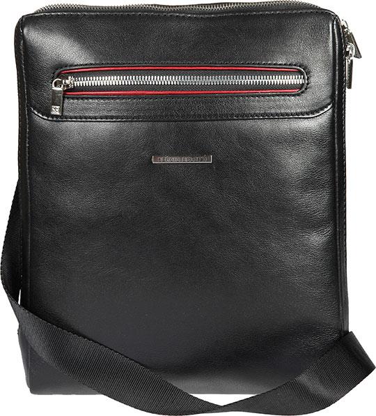 Кожаные сумки Sergio Belotti 9137-otranto-black-rubino сумка sergio belotti sergio belotti se003bmled32