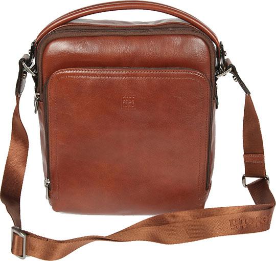 Кожаные сумки Sergio Belotti 9188-milano-brown кожаные сумки sergio belotti 9487 novara cioccolato
