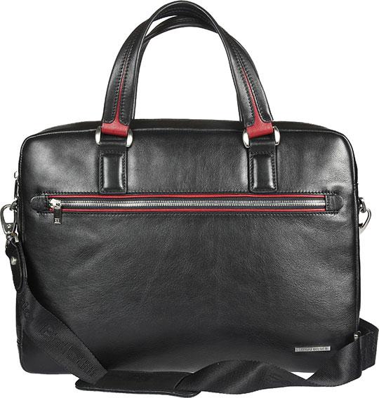 Кожаные сумки Sergio Belotti 9485-otranto-black-rubino