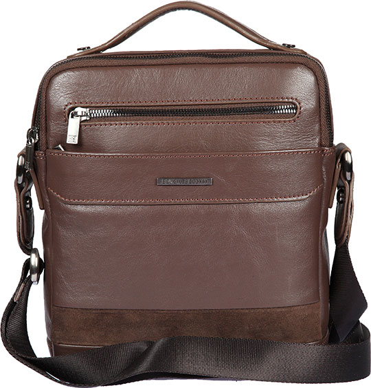 все цены на  Кожаные сумки Sergio Belotti 9487-novara-cioccolato  онлайн