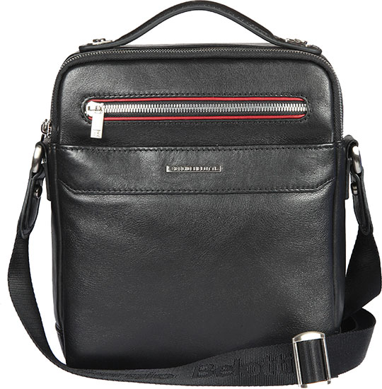 купить Кожаные сумки Sergio Belotti 9487-otranto-black-rubino недорого
