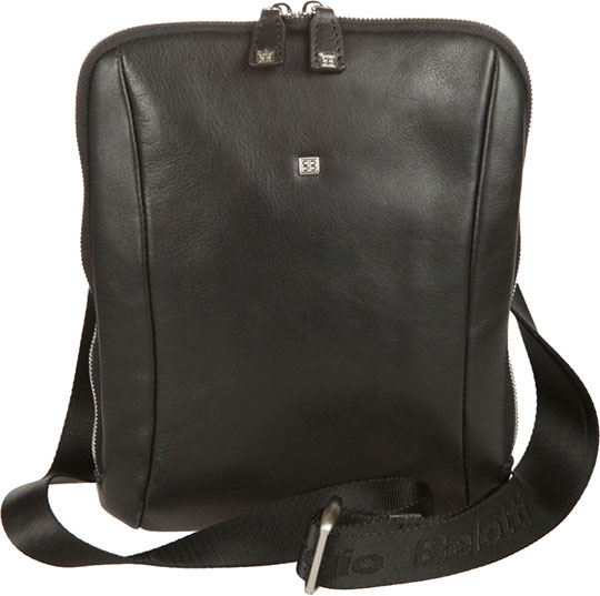 Кожаные сумки Sergio Belotti 9557-west-black кожаные сумки sergio belotti 206 teal