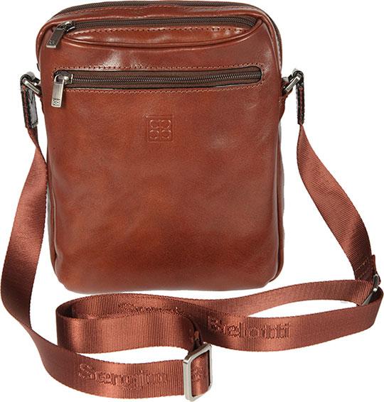 Кожаные сумки Sergio Belotti 9561-milano-brown