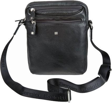 Кожаные сумки Sergio Belotti 9561-west-black