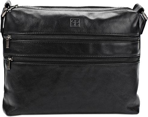 Кожаные сумки Sergio Belotti 9573-milano-black