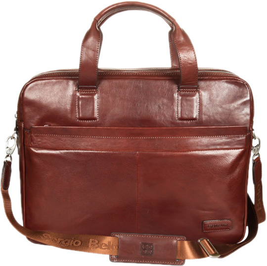 Кожаные сумки Sergio Belotti 9995-VEGETALE-brown сумка рюкзак sergio belotti 9204 vegetale brown
