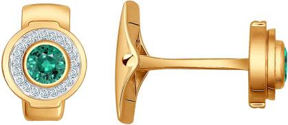 Золотые запонки SOKOLOV 3160001_s