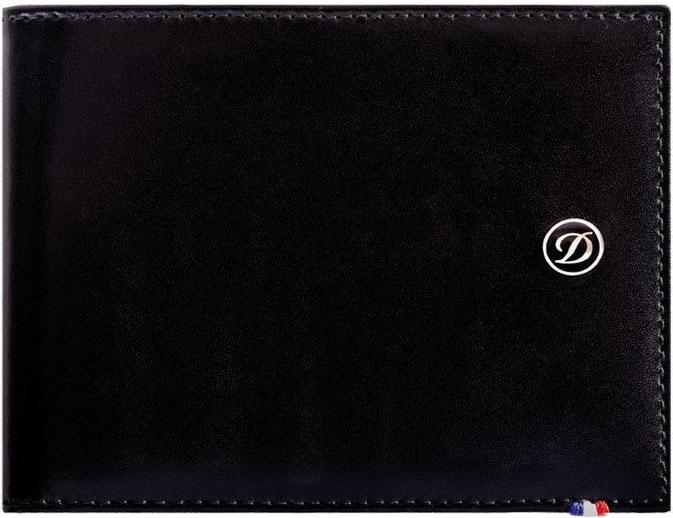 купить Кошельки бумажники и портмоне S.T.Dupont ST180000 по цене 18000 рублей