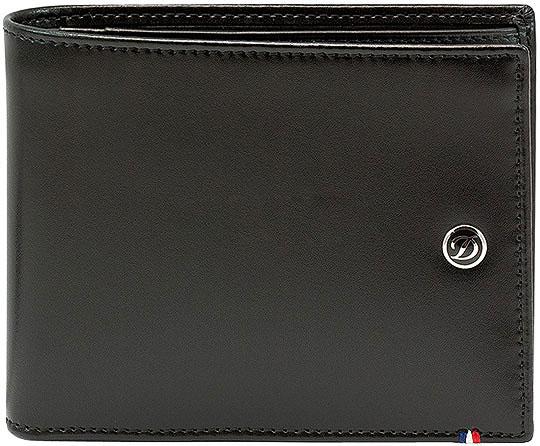 Кошельки бумажники и портмоне S.T.Dupont ST180001 кошельки бумажники и портмоне malgrado 36002 64d black