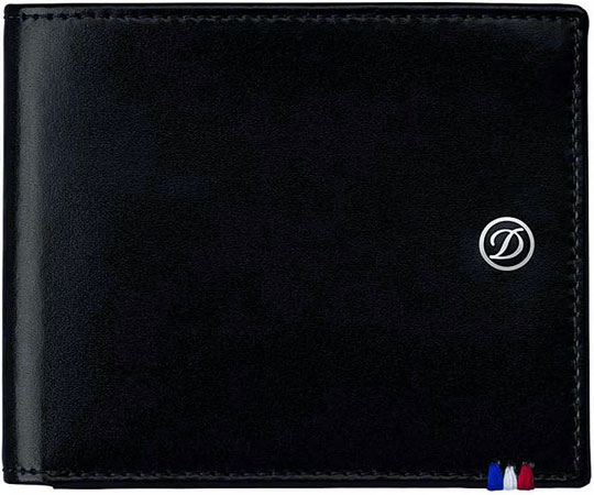 Кошельки бумажники и портмоне S.T.Dupont ST180007 кошельки бумажники и портмоне malgrado 73005 239a black
