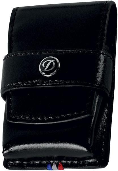 Чехлы и футляры S.T.Dupont ST180024 чехол zippo для широкой зажигалки с отверстием для большого пальца натуральная кожа чёрный