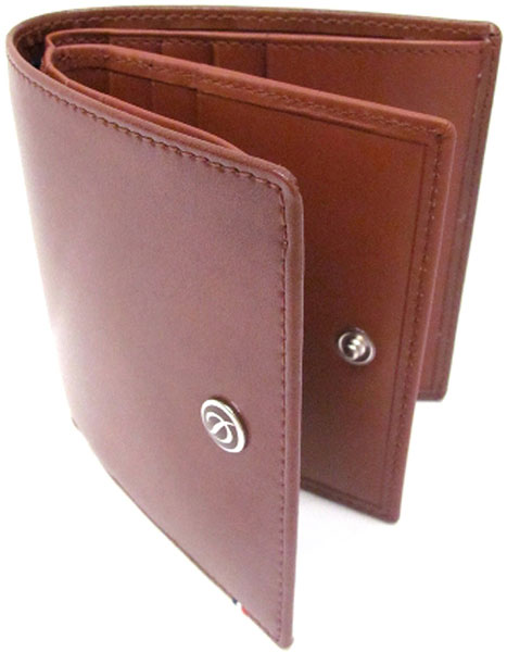 Кошельки бумажники и портмоне S.T.Dupont ST180130 портмоне коллекция g kazhan коричневый светло коричневый нат кожа
