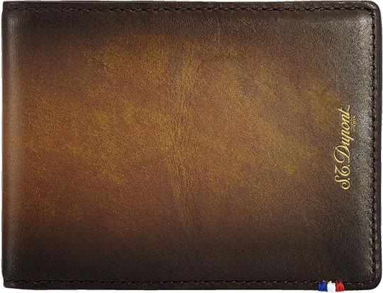 Кошельки бумажники и портмоне S.T.Dupont ST190200 портмоне коллекция g kazhan коричневый светло коричневый нат кожа