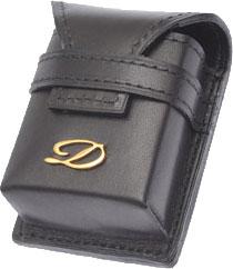 Чехлы и футляры S.T.Dupont ST50700 чехол zippo для широкой зажигалки с отверстием для большого пальца натуральная кожа чёрный
