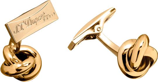 Запонки S.T.Dupont ST5613 золотой запонки медь позолота мода подарочные коробки и сумки свадьба для вечеринок повседневные муж бижутерия