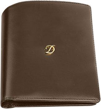 Кошельки бумажники и портмоне S.T.Dupont ST98016 кошельки бумажники и портмоне mano 20103 setru black