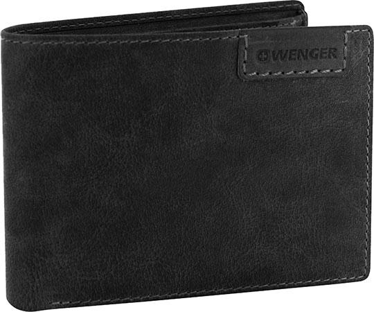 Кошельки бумажники и портмоне Wenger W11-16BLACK бумажник wenger бумажник alphubel w2 04black