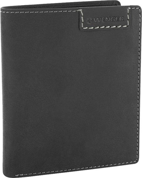 Кошельки бумажники и портмоне Wenger W11-17BLACK бумажник wenger бумажник alphubel w2 04black