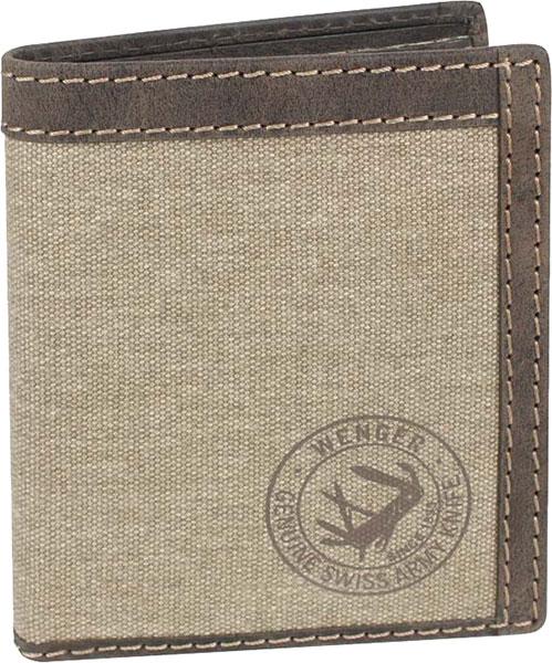 Кошельки бумажники и портмоне Wenger W19-04BROWN портмоне коллекция g kazhan коричневый светло коричневый нат кожа
