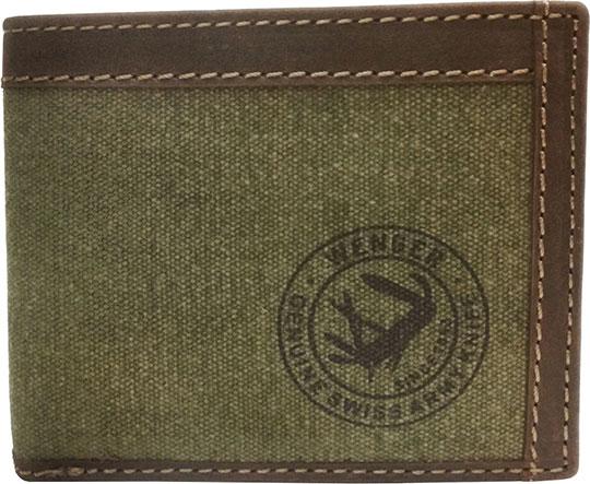 Кошельки бумажники и портмоне Wenger W19-06GREEN бумажник wenger бумажник alphubel w2 04black