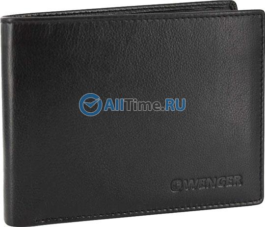 Кошельки бумажники и портмоне Wenger W2-11BLACK кошельки бумажники и портмоне wenger w2 03black