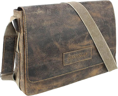 Кожаные сумки Wenger W23-01Br кожаные сумки wenger w23 05bl