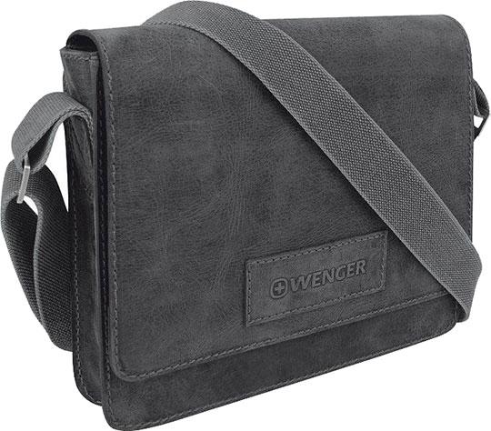 Кожаные сумки Wenger W23-02Bl