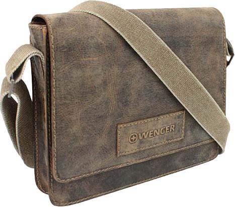 Кожаные сумки Wenger W23-02Br кожаные сумки wenger w23 05bl