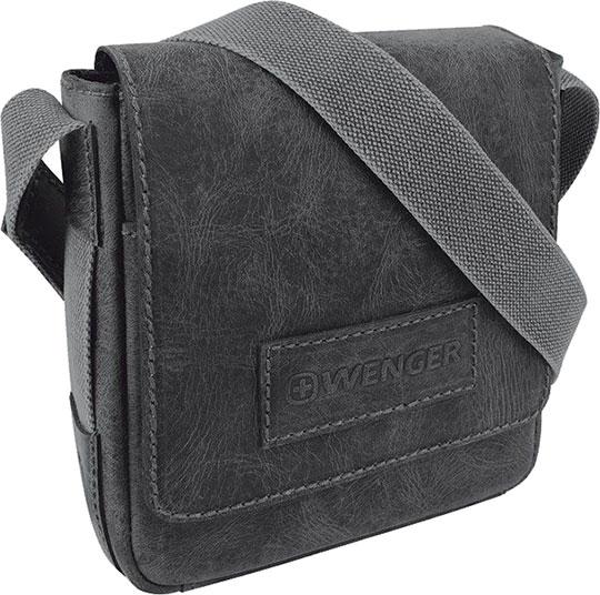 Кожаные сумки Wenger W23-03Bl