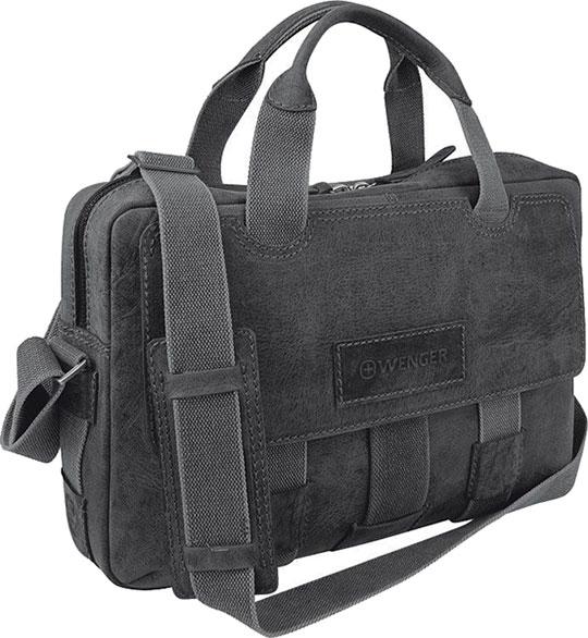 цена Кожаные сумки Wenger W23-06Bl онлайн в 2017 году