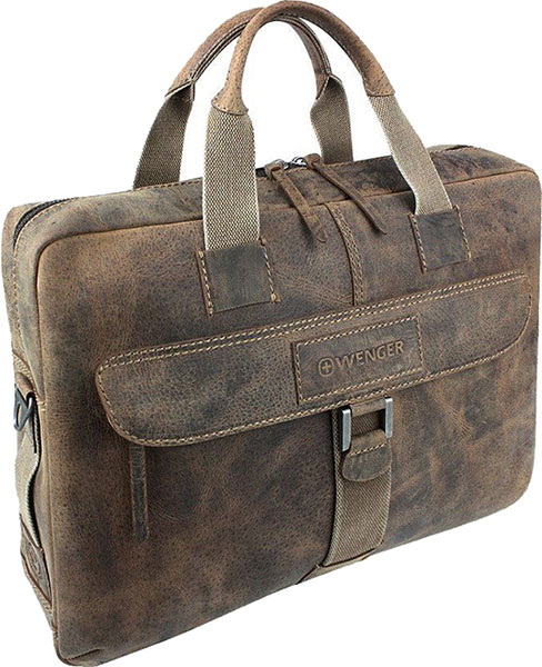 Кожаные сумки Wenger W23-10Br кожаные сумки wenger w23 05bl