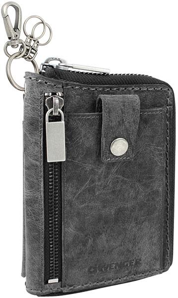 Кошельки бумажники и портмоне Wenger W23-21BLACK кошельки бумажники и портмоне wenger w23 25black